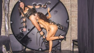 Light BDSM with naughty Mexican lesbians Frida Sante and Melody Petite - Chicas Loca